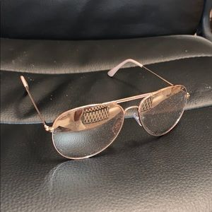 Rose Gold Colored Sunglasses